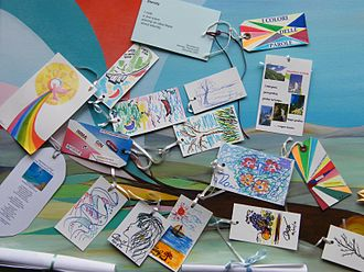 Hirshhorn Museum and Sculpture Garden - Hirshhorn Sculpture Garden: cards for Yoko Ono's Wish Tree for Washington, DC