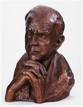 Carl Thiemann - Bust of Thiemann by Ulla Scholl
