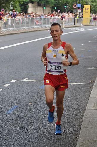 Spain at the 2012 Summer Olympics - Carles Castillejo in men's marathon