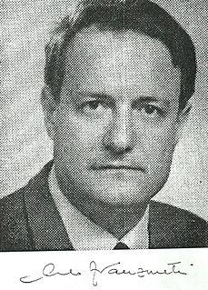 Carlo Franzinetti Italian experimental physicist