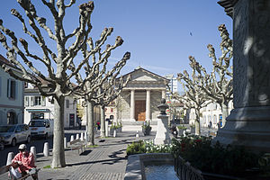 Carouge - Image: Carouge Place du Temple 1