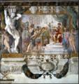 Carracci, Romolo davanti ad Amulio, Palazzo Magnani, Bologna.png