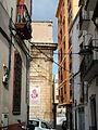 Carrer de Callosa amb l'església de Sant Joan Baptista al fons.JPG