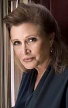 Carrie Fisher, interprète de Leia Organa (ici en 2013).