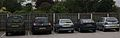 Cars parked outside the council offices, Wetherby (12th October 2013).JPG