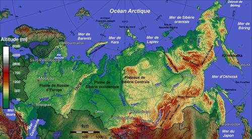 Géographie de la Russie — Wikipédia