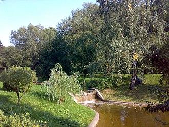 Mosfilm - Cascading pond at Mosfilm Studios