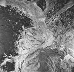 Casement Glacier, valley glacier terminus, glacial remnents and outwash plains, August 22, 1965 (GLACIERS 5293).jpg