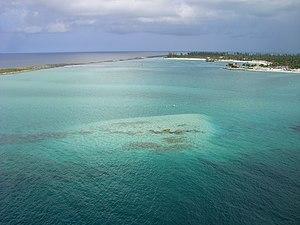 Castaway Cay - Image: Castaway Cay lagoon