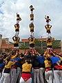 Castellers de Badalona - Onze de Setembre, Badalona i Meridiana - 21160210569.jpg