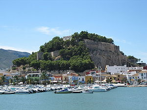 Province of Alicante - Image: Castillo de Denia