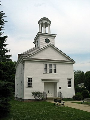 "Vermont Republic - The ""Old Chapel"" (Castleton Medical College Building) in Castleton"