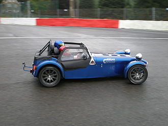 Caterham 7 - Caterham 7 on track at Spa-Francorchamps