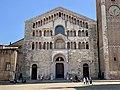 Cathedral facade, Parma, Italy, 2019, 03.jpg
