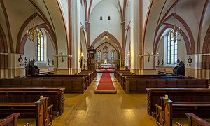 St. James's Cathedral, Riga - Image: Cathedral of Saint James Interior 1, Riga, Latvia Diliff