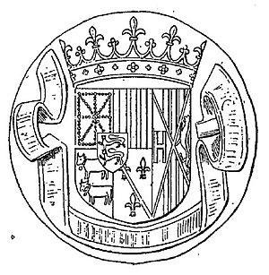 Catherine of Navarre - Seal of Catherine of Navarre