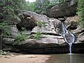 Cedar Falls (Hocking Hills, Ohio, USA) 10 (34727574441).jpg