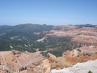 Cedar Breaks National Monument - Image: Cedar breaks NM