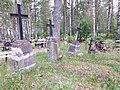 Cemetery in Obinitsa, Setomaa region, Estonia. Kalmistu Obinitsa01.jpg