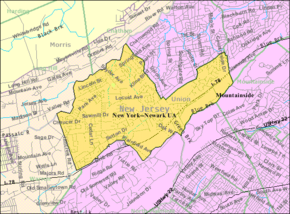Census Bureau map of Berkeley Heights, New Jersey.png
