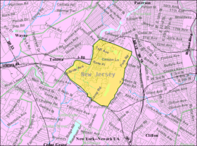 Census Bureau map of West Paterson, New Jersey.png