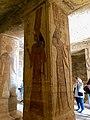 Central Hall, Temple of Hathor and Nefertari, Abu Simbel, AG, EGY (48016740961).jpg