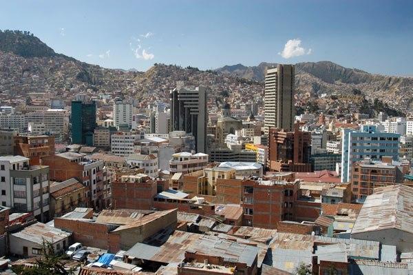 Central La Paz Bolivia