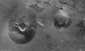 Ceraunius Tholus and Uranius Tholus in high resolution ESA230332.tiff