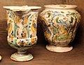 Cerreto sannita, brocchetta, XVIII sec, e vaso, 1746.JPG