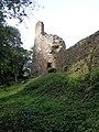 Château de Montafilan, Côrseul (Côtes d'Armor), tour nord-ouest DSC07007.jpg
