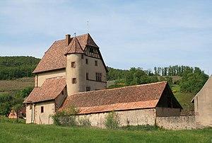 Walbach, Haut-Rhin - Image: Château de Walbach