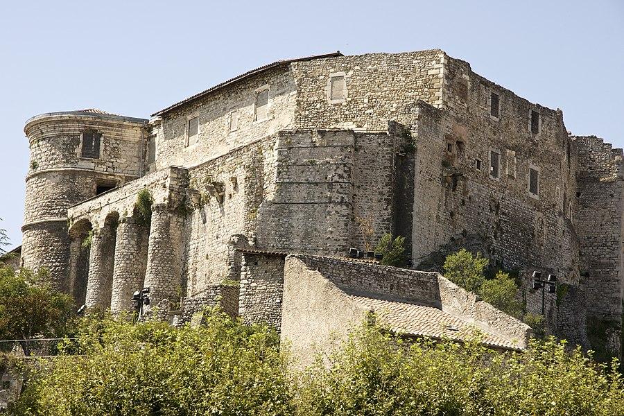 Vue générale du château depuis le nord-est