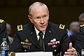 Chairman of the Joint Chiefs of Staff Gen. Martin E. Dempsey testifies on sexual assault in the military before the U.S. Senate Arms Services Committee on Capitol Hill in Washington, D.C., on June 4, 2013 130604-D-HU462-141.jpg