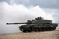Challenger 2 Tank During Amphibious Demonstration MOD 45152078.jpg