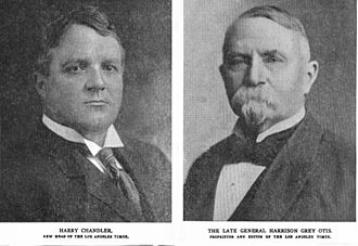 Los Angeles Times - Chandler and Otis 1917