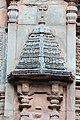 Chandramouleshwar Temple, Gopuram with delicate art carved in Chalukya style on the outer walls of the temple.jpg