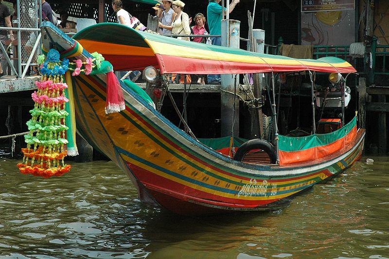 File:ChaoPhraya LongTailBoat.JPG