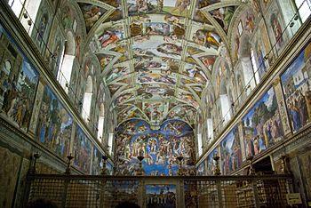 Resultat d'imatges de capilla sixtina
