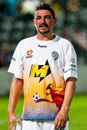 Charlie Miller - Miller playing for Gold Coast United in 2010