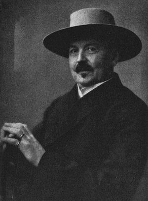 Carl Charlier - Professor Carl Charlier in 1923.