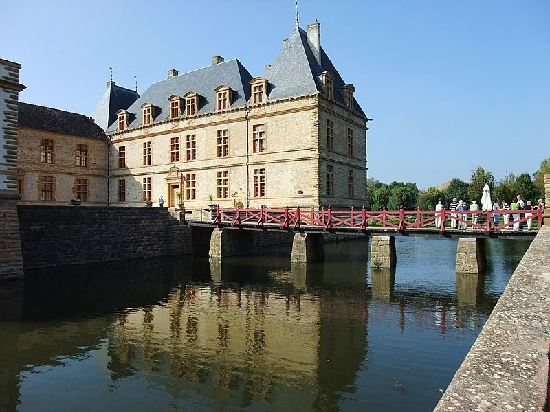Château de Cormatin, Burgundy, France