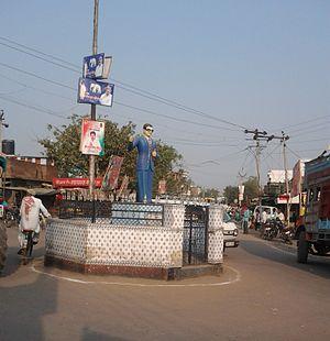 Rath, India -  busiest chauraha of city