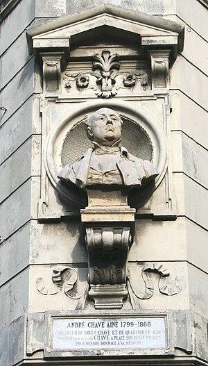 André-Joseph Allar - Image: Chave buste
