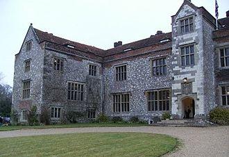 Chawton House - A view of Chawton House Library taken January 2008