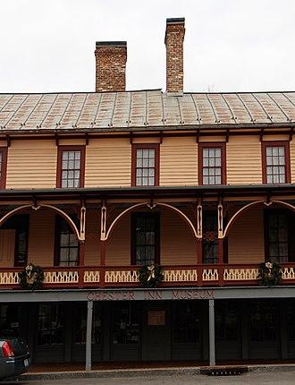 Jonesborough Historic District - Image: Chester Inn 3