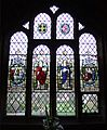 Chester Cathedral, Cloister window Gamon Family.JPG