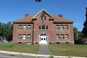 Chester Factory Village Historic District - Chester Elementary School
