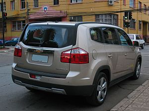 Chevrolet Orlando - Chevrolet Orlando 2.0d LT (Chile)