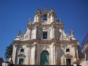 Buscemi - Image: Chiesa Madre di Buscemi XVII sec (by Scorpios 90)