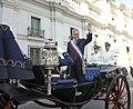 Chile-Pdte. Piñera se traslada a la Catedral.jpg